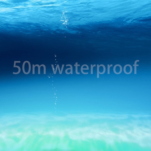 5 ATM waterproof