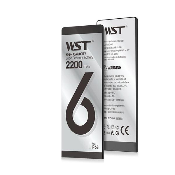 Melhor Qualidade Interno interno Li-ion Bateria de Substituição para o iphone 6g 6 s 6 p 6sp 2200 mah 3250 mah testado bateria frete grátis dhl