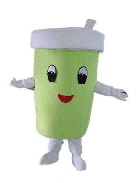2019 factory hot the head Un mascotte di coppa verde da indossare per adulti