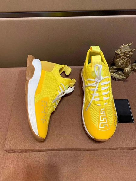 Lates style Designer Chain Reaction Men casual Shoes Women Sports Trainers Fashion Height Increasing Casual Shoes Sneakers zz03