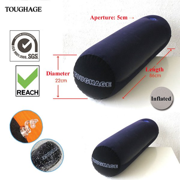 Toughage inflatable pillow positions sofa bed magic hold pillow with hole inflatable sofa Furnitures adults toys Free Shipping