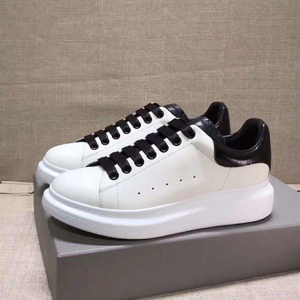 2019 autunno nuove piccole scarpe bianche scarpe sportive da pan di spagna femminili in pelle coreana fondo spesso selvaggio 8896033