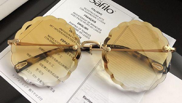 Chloe CE142 Sonnenbrillen Luxus Herren Designer Fashion Square Frame UV-Schutz Objektiv Beliebte Sommer Style Sonnenbrillen Top-Qualität kommen mit Fall