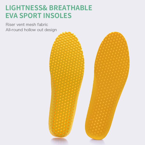 PCSsole elastic breathable non-slip running increased orthopedic pad memory cotton sports arch support men and women insoles 637