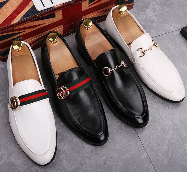 Luxus Männer Schuhe Aus Echtem Leder Marke Casual Driving Oxfords Wohnungen Schuhe Herren Müßiggänger Mokassins Italienische Schuhe für Männer 37-45.