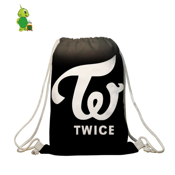 Drawstring Backpack TWICE Bags