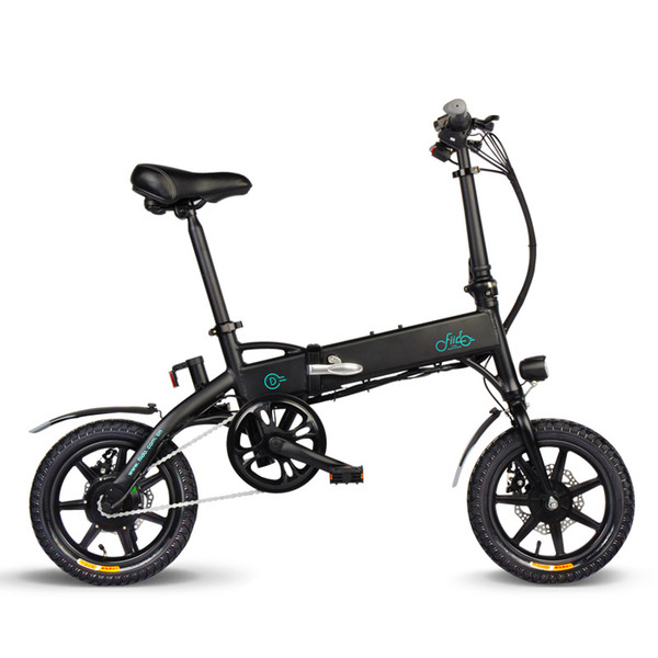 best selling Bike Folding Electric Light Bicycle Electrical Foldable Aluminum Alloy Moped E-bike 250W New Fiido D1 7.8Ah EU Free Shipping