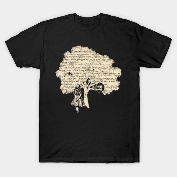 Impressão casual dos homens 100% algodão camiseta popular livro vintage t-shirt qualidade homens impressão camiseta