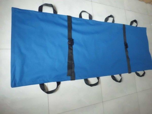 Soft stretcher emergency stretcher folding 8 handle waterproof non-woven bed sheet