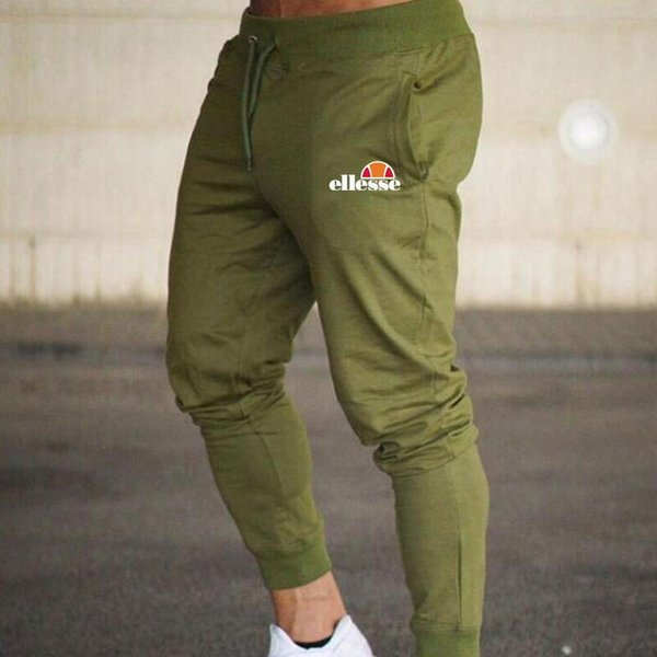 best selling Mens Joggers Casual Pants Fitness Sportswear Bottoms Skinny Sweatpants Trousers Black Gym Jogger Bodybuilding Track Pants