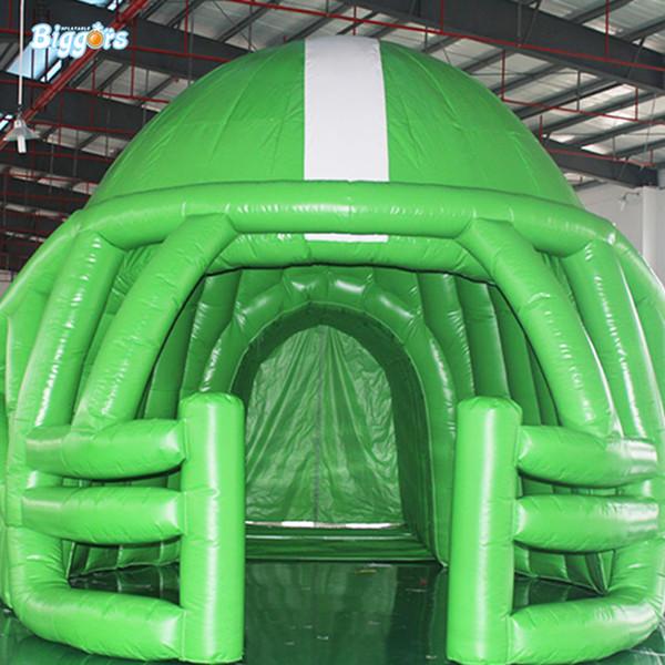 Открытый команды Забавный футбол шлем надувные купола футбол Стадионы надувной футбол Спорт Шлем Туннели для продажи