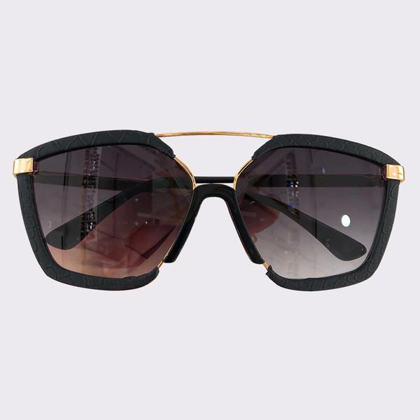 lusso- Occhiali da sole quadrati da donna 2019 Occhiali da sole polarizzati alla moda Oculos De Sol Feminino con confezione