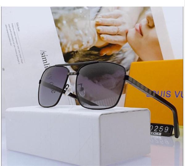 Top Quality lente in vetro Polit20 lusso occhiali da sole Carfia UV 380 occhiali da sole per gli uomini occhiali da sole vintage design metallo Sport Occhiali da sole con la scatola