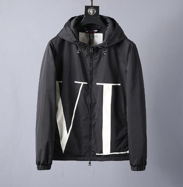 2019 primavera moda uomo s Cooperazione abbigliamento designer di alta qualità con cappuccio giacche cinese taglia ~ top designer giacche di alta qualità per gli uomini