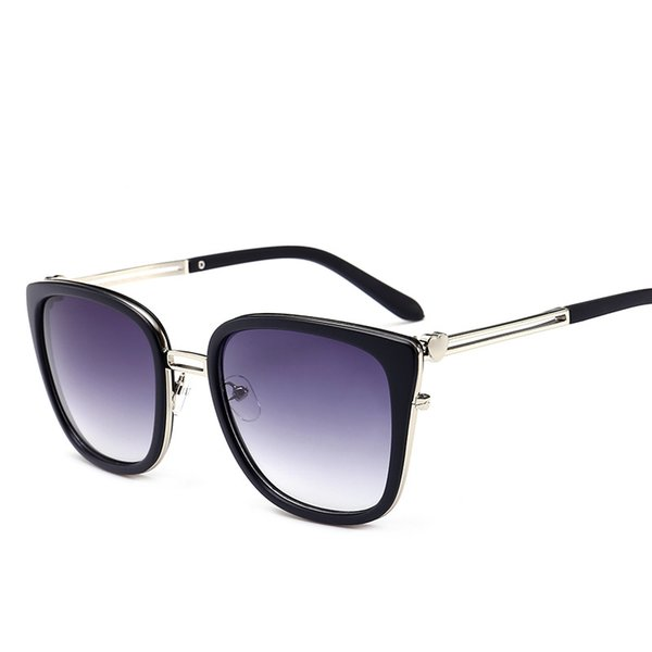 572935c51f00f 2019 Elegante Olho De Gato Óculos De Sol de Luxo Mulheres Marca de Moda  Óculos Quadrados de Alta Qualidade Proteção UV Famoso Eyewear Designer  Óculos De Sol