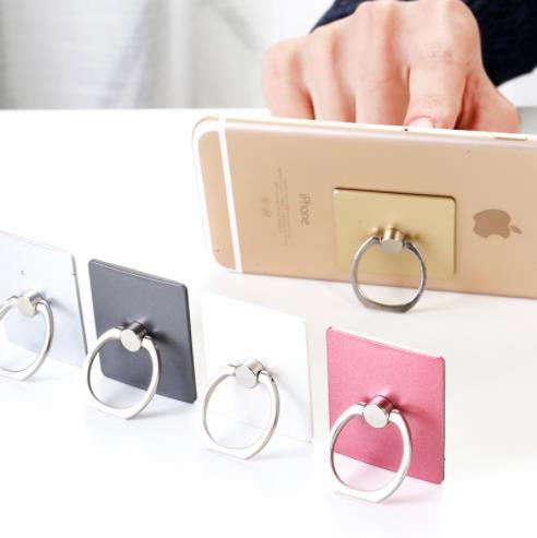 Universal metal ring bracket anti-fall creative luxury 360 degree rotating foldable stand for all phone