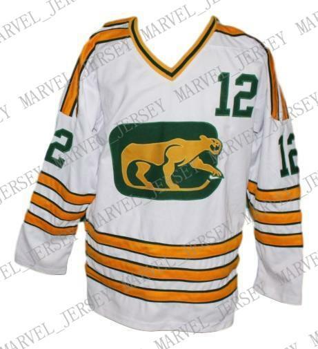 Custom Chicago Cougars Ретро Хоккейный Джерси Белый Стейплтон Персонализированные стежка любое число любое имя Мужская Хоккейный Джерси XS-5XL