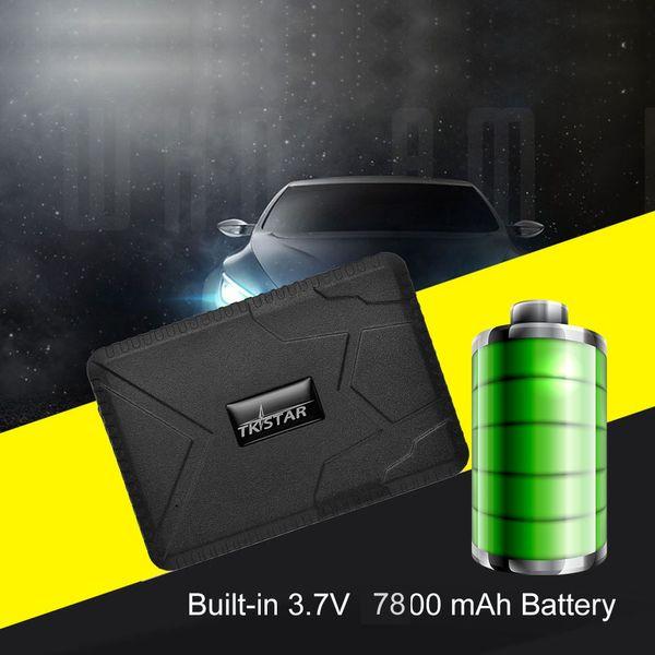 Spedizione gratuita tracker TK915 12-24 V Localizzatore GPS Impermeabile Forte Magnete Car GPS Tracker 10000 mah Batteria Lunga Auto GPS tracker APP gratuita
