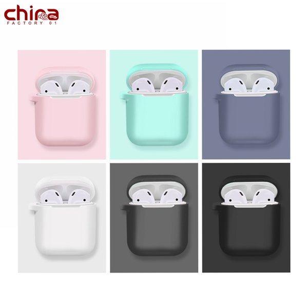 Chine Airpods Case Silicon Etui universel Soft Protector Earphone Protector Cover Pour Iphone 8 Xs Max