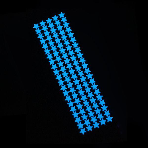 105pcs stars blue