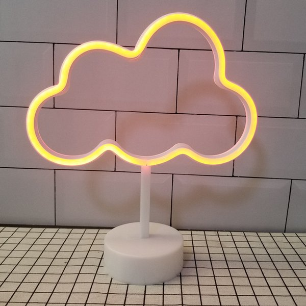 OHANEE Custom fit Cloud led tube Neon Sign Light home bedroom wedding festival decoration Arts Crafts birthday Gifts Lighting