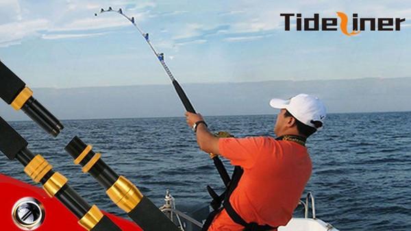 1.98m / 1.8m ağır tekne jig trolling olta tuzlu su rulo tekne olta