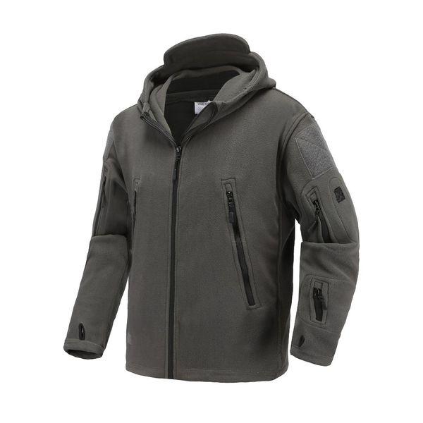 2019 осень мужская толстовки куртки мягкая оболочка флис тактическая куртка мужская верхняя одежда плюс размер 3XL