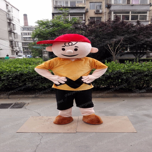 Christmas Carnival Theme Outfit.Halloween Charlie Brown Mascot Costume Cartoon Boy Anime Theme Character Christmas Carnival Party Fancy Costumes Adult Outfit Costumes For Less Gothic