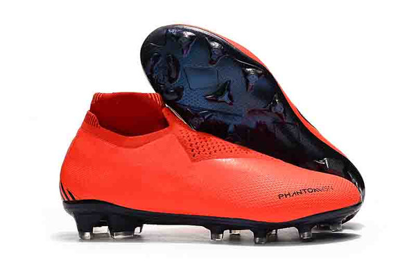 Mens Soccer Cleats Phantom VSN Elite DF Game Over Outdoor Soccer Shoes x EA Sports Phantom Vision Football Boots Scarpe calcio Size 39-45