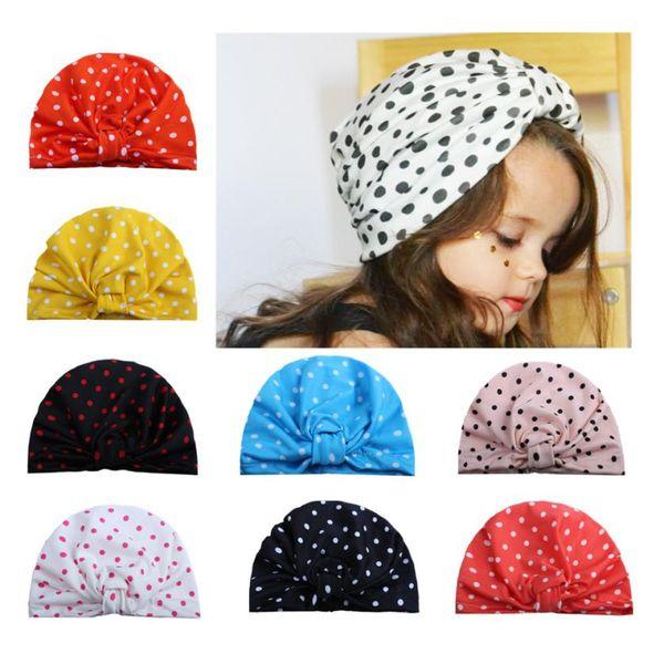 Cute Newborn Toddler Kids Baby Boy Girl Turban Cotton Beanie Hat Warm Cap UK