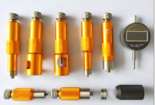 Adduswin CRI Common Rail Injektor Ventilbaugruppe Spaltdichtung Hubmessung Reparaturwerkzeugsatz für BOS CH Für DENS O