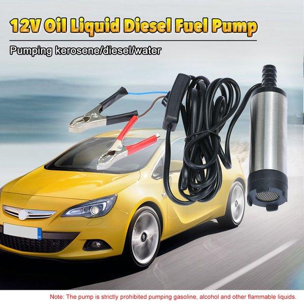 best selling Freeshipping 12V Diesel Fuel Water Pump for Car Truck Caravan Marine Boat