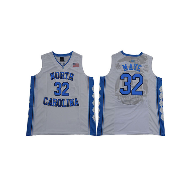 Mens Luke Maye Jersey Collection North Carolina Tar Heels College Basketball Jerseys High Quality Stitched Name&Number Size S-2XL