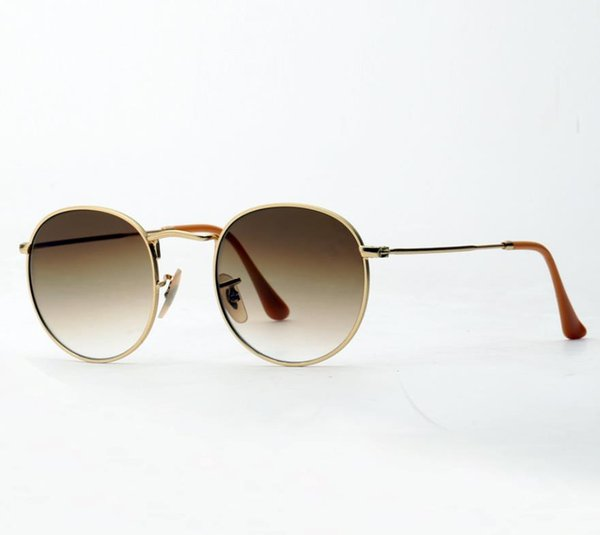 gold frame gradient Brown lens