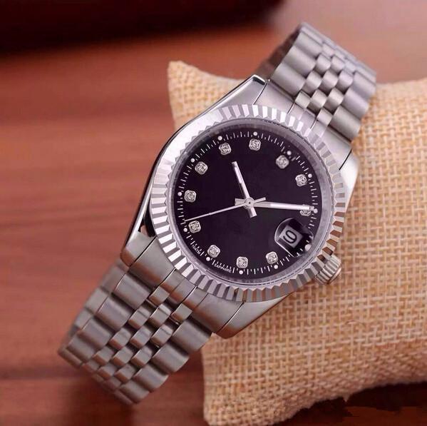 2019 Hombres cronógrafo de cuarzo de lujo del reloj de moda del reloj del suizo Deporte Fecha alta calidad de pulsera de diseño más bonito reloj de acero inoxidable
