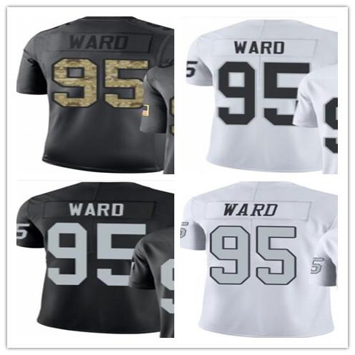 separation shoes b4c24 967cf 2019 Custom 2018 Oakland Raiders Sport Rugby Clothing 95 Jihad Ward  Men/WOMEN/YOUTH Outdoor Clothing Legend Rush Baseball Jersey From Kksupper,  $19.1 ...