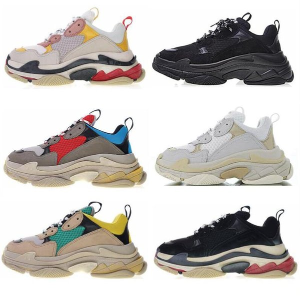 Hot Best Casual ShoFashion Triple S Designer Low Sneakers Thick Soles Speed Boots Designer Men Women Runner Shoes Custom Sports Casual Shoes Sperry