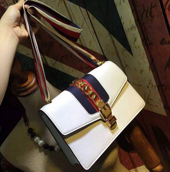 New Messenger Bag Ladies Handbag Chain Ring PU Leather Bags Retro Envelope Bag Diagonal Lady Shoulder Bag Designer Women Handbags Purses 024