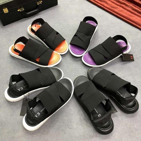 2019 yeni yaz erkek sandalet flip flop rahat footrest koyun moda