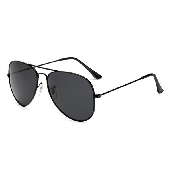 New Ray Fashion Occhiali da sole per uomo Donna montatura in metallo Specchio polaroid Lenti conducente vieta Occhiali da sole con astuccio e scatola marrone