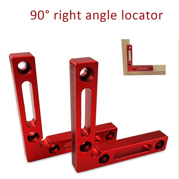 DURATEC 90° Right Angle Clamp L-square Holder Ruler Woodworking Clip Tools