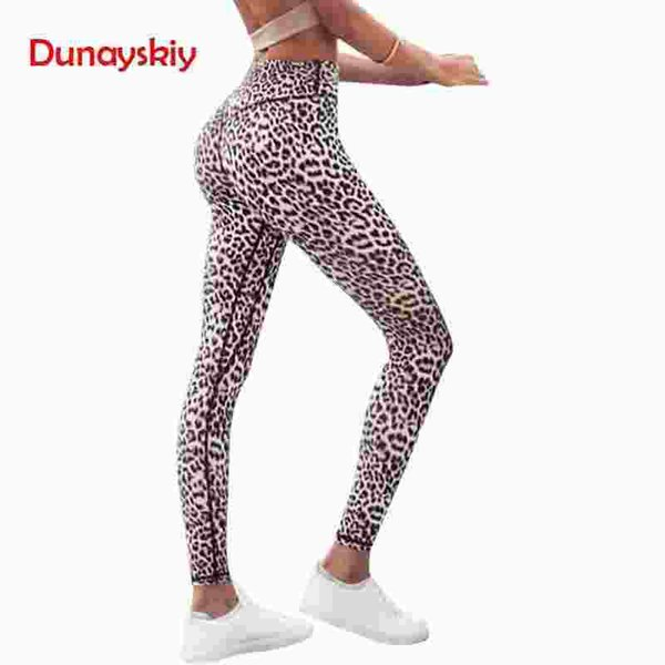 High Waist Leopard Sexy Push Up Leggings 2019 Summer Women Workout Polyester Fitness Trousers Activewear Slim Casual New Fashion
