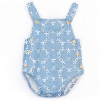 #5 Suspender Baby Rompers