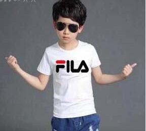 2019 nuovo marchio designer di marca 2-9 anni Neonate maschi T-shirt estate maglietta Top cotone bambini Tees bambini Abbigliamento 2 colori