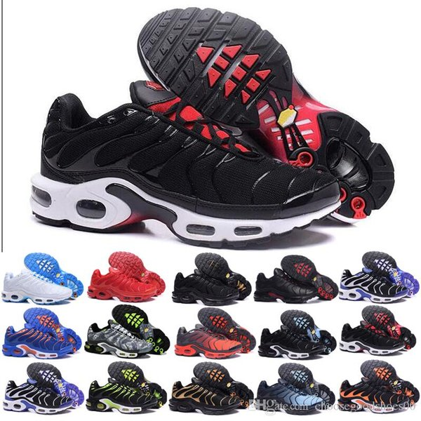 nike Tn plus air max airmax 2019 Plus Tn Rainbow Running Shoes mens Bumblebee Be True Grape Triple Black Designer Shoes Womens Sherbet Team Red Black White Sneakers A51