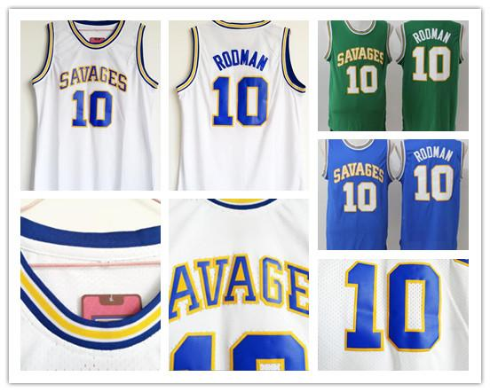 release date afdef 50504 2019 Dennis Rodman Oklahoma Savages Jersey NCAA College Jerseys Basketball  Mens Color Blue White Green Breathable University Uniforms From Ytrade, ...