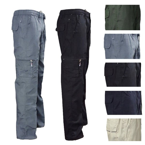 Tactical Pants Male Camo Jogger Casual Plus Size Cotton Trousers Multi Pocket Style Army Camouflage Men's Cargo Pants