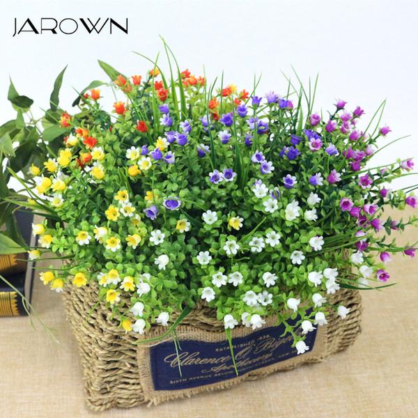 JAROWN Simulation Maiglöckchen Bouquet Künstliche Kunststoff Gefälschte Blumen Hochzeit DIY Flores Home Party Fest Dekor Blume