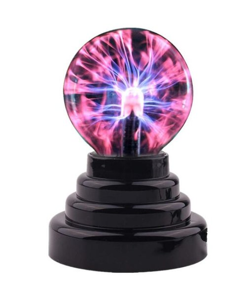 48 epacket USB induction magic atmosphere lamp lightning ball night lamp touching light-emitting electrostatic ion ball