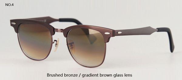 brushed bronze w gradient brown